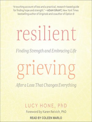 cover image of Resilient Grieving